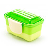 2-Tier Bento Lunch Box - Green Compact