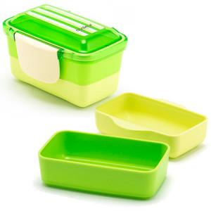 2-Tier Bento Lunch Box - Green