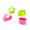 PakuPaku Plastic Food Cutter 4pc - Car, Cloud, Fish, Star