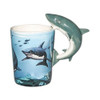 Shark Shaped 3D Handle Mug