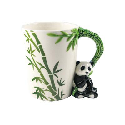 Panda Shaped 3D Handle Mug