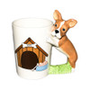 French Bulldog Shaped 3D handle Mug