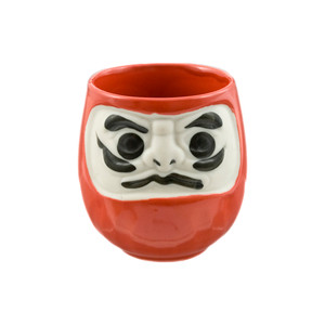 Kabuki Teacup - Red