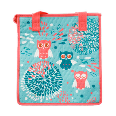Insulated Lunch Bag - Owl