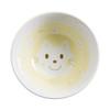 Kids Spring Porcelain Dinner Set-Yellow Cat:  Noodle Bowl