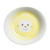 Kids Spring Porcelain Dinner Set-Yellow Cat:  Oval Plate