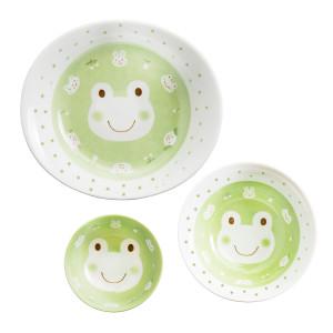 Kids Spring Porcelain Dinner Set-Green Frog