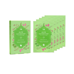 VIA Face Mask Sheet - Aloe (5 pc)