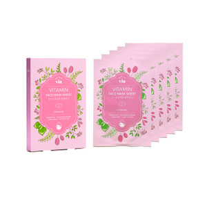 VIA Face Mask Sheet - Vitamin (5 pc)