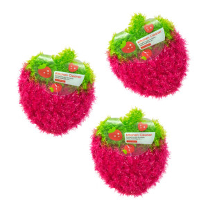 Kitchen Cleaner Tawashi Knitted Scrubber 3pc (Pink)
