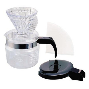 Hario V60 Compact Coffee Dripper and Pot
