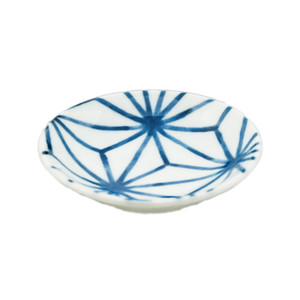 "Web Pattern Blue Sauce Bowl 3.5""D, Set of 4"