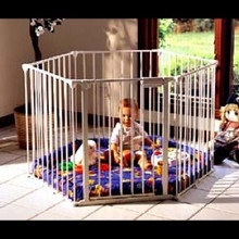 PlayDen Play Yard with Padded Floor
