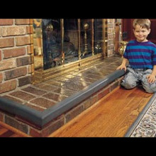 "Kid's Edge Adhesive Mount Hearth Guard - Fits Up to 110"" Wide and 20"" Deep"