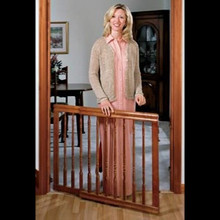 Furniture Style Baby Gate,Dark Oak by Evenflo