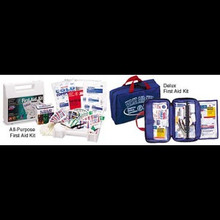 Deluxe First Aid Kit, 122 pcs.