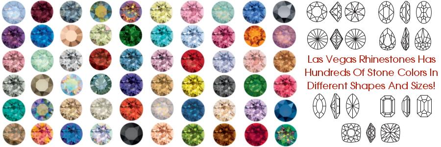 Swarovski crystals color chart