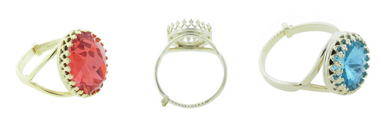 Crown Settings- Rings