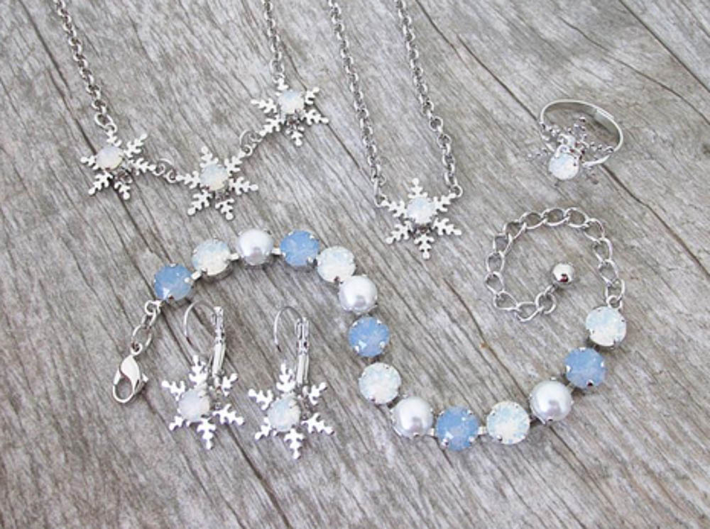New 6mm (29ss) Snowflake Collection