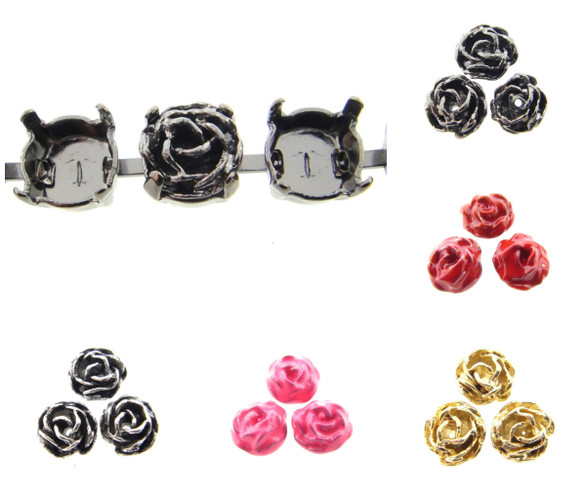 Rose Element Fits 8.5mm 39ss Empty Chain