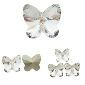 Swarovski Elements Article 4748 Fancy 10mm Rivoli Butterfly Crystal 12 Pieces cc