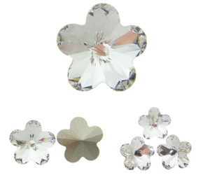 Swarovski Elements Article 4744 Fancy 10mm Flower Crystal 12 Pieces cc