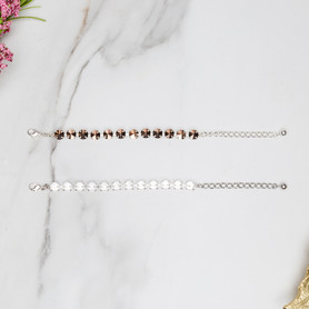12mm Round   Classic Eleven Setting Bracelets   Three Pieces