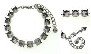 8.5mm (39ss) 14 Box Empty Bracelets Three Pieces