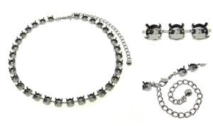 8.5mm (39ss) 33 Box Empty Necklaces 3 Pieces