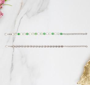 6mm | Classic Eighteen Setting Bracelets | Three Pieces