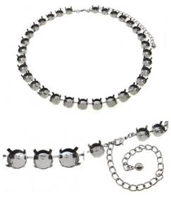 Premium European Empty 32 Box Necklaces 11mm 48ss 3 Pieces