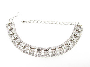 Special Design Empty Bracelets Style 15 - 6mm (29ss) With Crystal Rhinestones 1 Piece