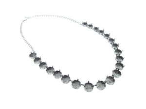 10mm Square Cushion Cut 21 Box Empty Necklace