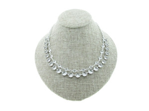 8.5mm (39ss) 22 Box Empty Necklace With Layered Channel Chain