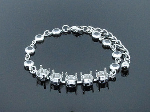8.5mm (39ss) 5 Box Empty Bracelet With Chanel Chain