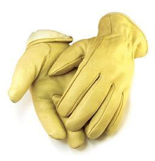Deerskin Tan C40 Thinsulate insulated Leather driver gloves