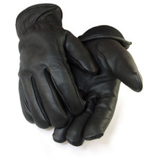 Deerskin Black C40 Thinsulate insulated Leather driver gloves