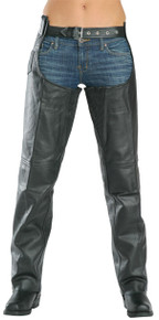 Dual Comfort Women's Premium Leather Chaps