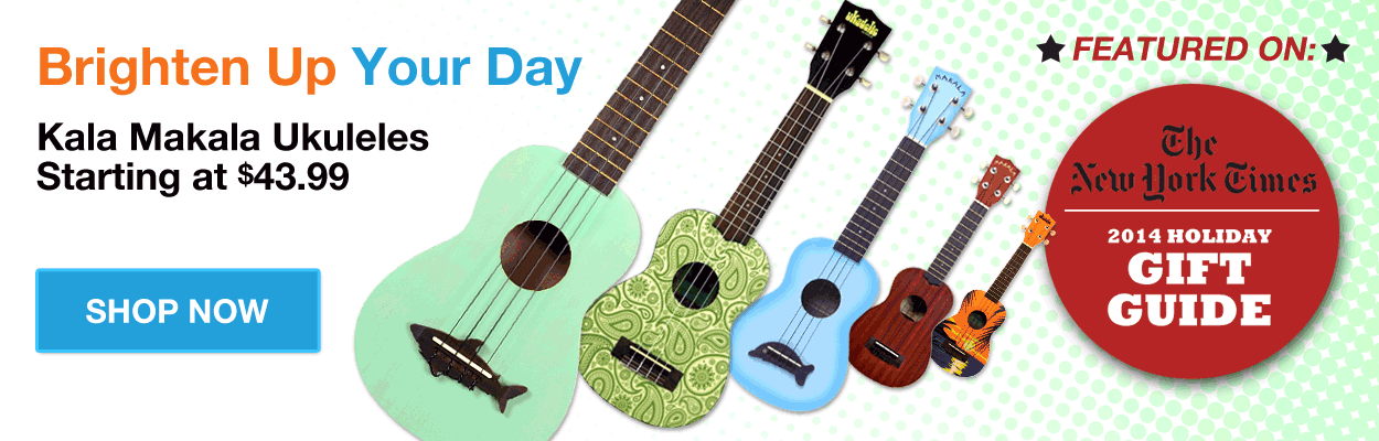 Makala Ukuleles Starting at $43.99