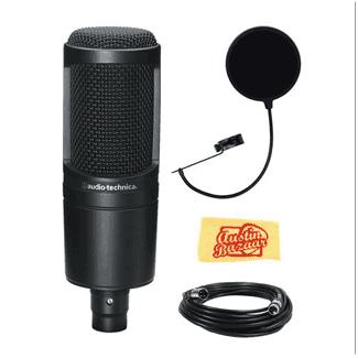 Audio-Technica Microphone Comparison - AT2020 vs AT2035 vs AT2050 - Austin Bazaar Music