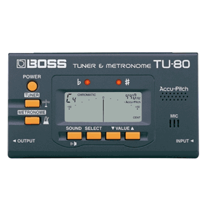 BOSS TU-80 Metronome