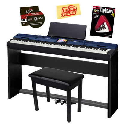 CASIO PRIVIA PRO PX-560 88-KEY DIGITAL PIANO STUDIO BUNDLE