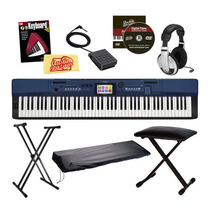 CASIO PRIVIA PRO PX-560 88-KEY DIGITAL PIANO PRO PERFORMER BUNDLE