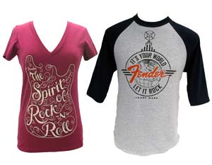 Fender and Martin T-Shirts Gifts for Musicians