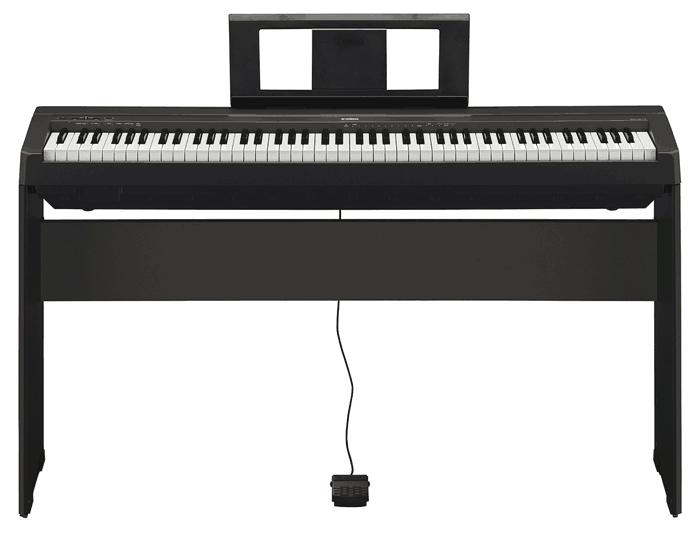 New yamaha p115 and p45 pianos updates to p105 p35 for Yamaha p105 digital piano bundle