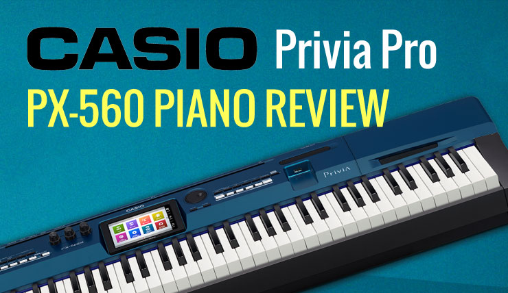 Casio Privia Pro PX-560 Features