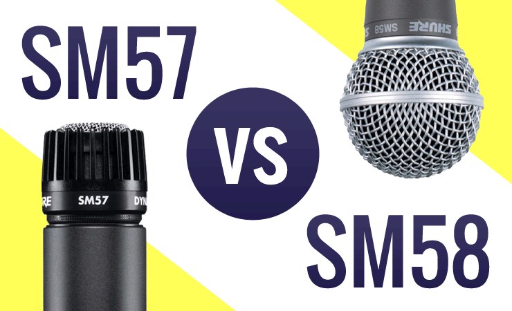 Harmonicas For Sale >> Shure SM57 vs SM58 Microphones - What's the Difference? - Austin Bazaar Music