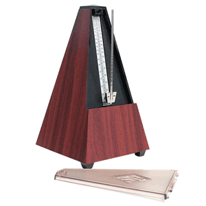 Wittner 802K Mahogany Metronome Without Bell