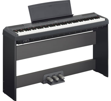new yamaha p115 and p45 pianos updates to p105 p35. Black Bedroom Furniture Sets. Home Design Ideas