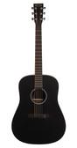 Martin DXAE Acoustic-Electric Guitar | Black Full View